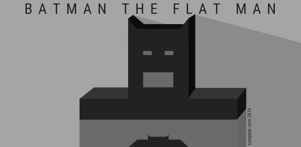 flat batman ikonu