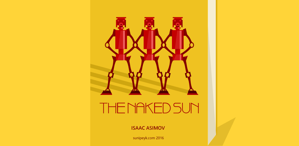The Naked Sun Kitap Kapağı
