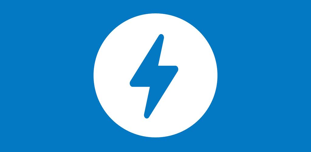 AMP icon mavi