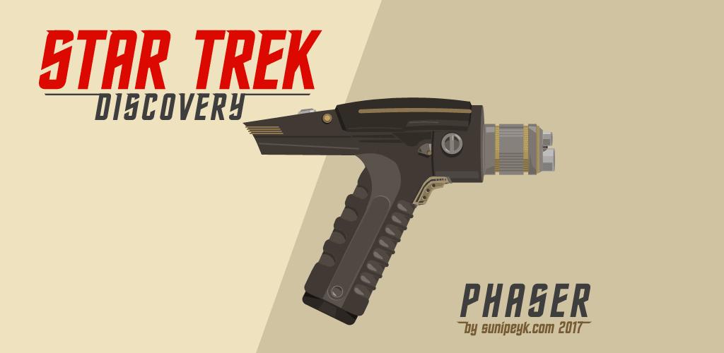 Star Trek Discovery Phaser