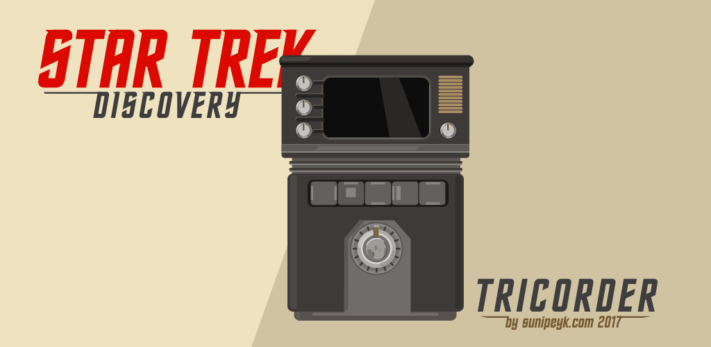 Star Trek Discovery Tricorder