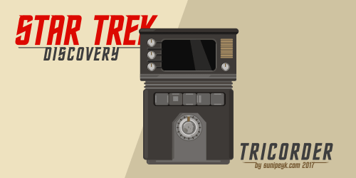Star Trek Discovery Tricorder