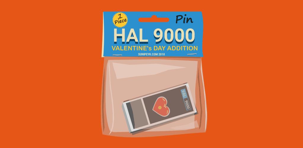 HAL 9000 pin