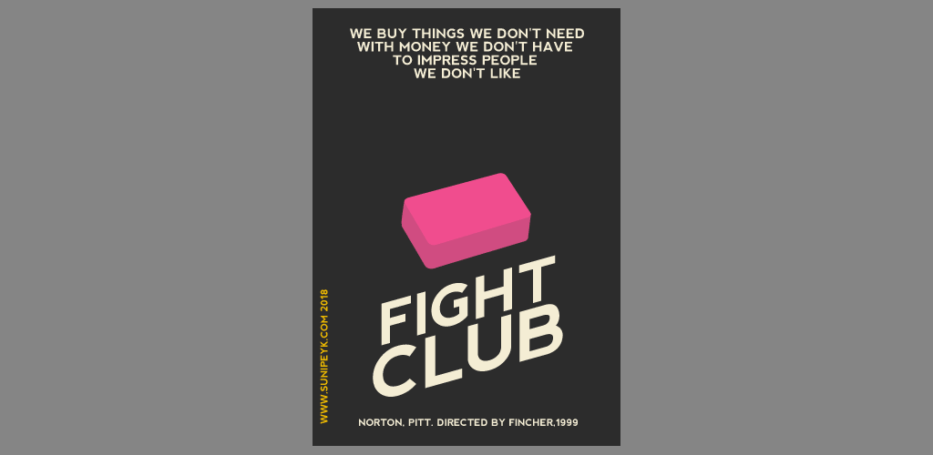 fight club poster