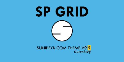 sp grid v9.2 gutenberg