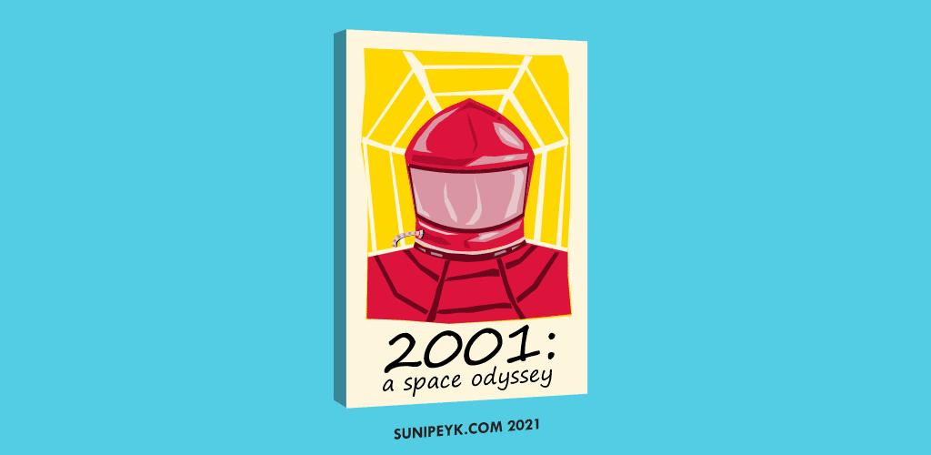 2001 a space odyssey 53.yıl posteri