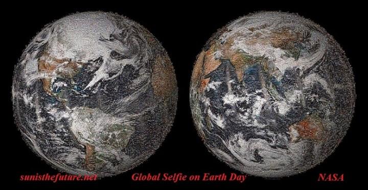 Global Selfie-Earth Day NASA final