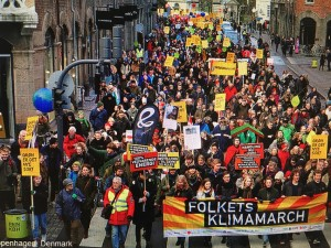 Climate March Nov 2015-Coppenhagen Denmark (credit: 350.org)