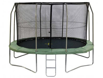 13ft x 9ft Jumpking Oval Capital Ultra Trampoline