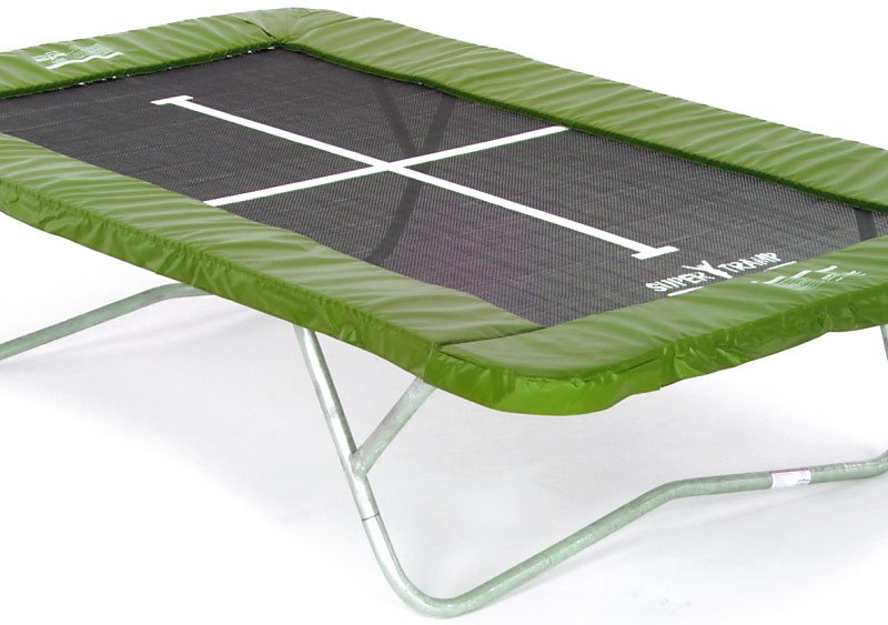 14ft 5in x 8ft 3in Super Kangaroo Rectangular Trampoline