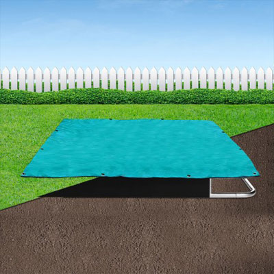 Capital In-Ground Trampoline Weather Rectangle Cover