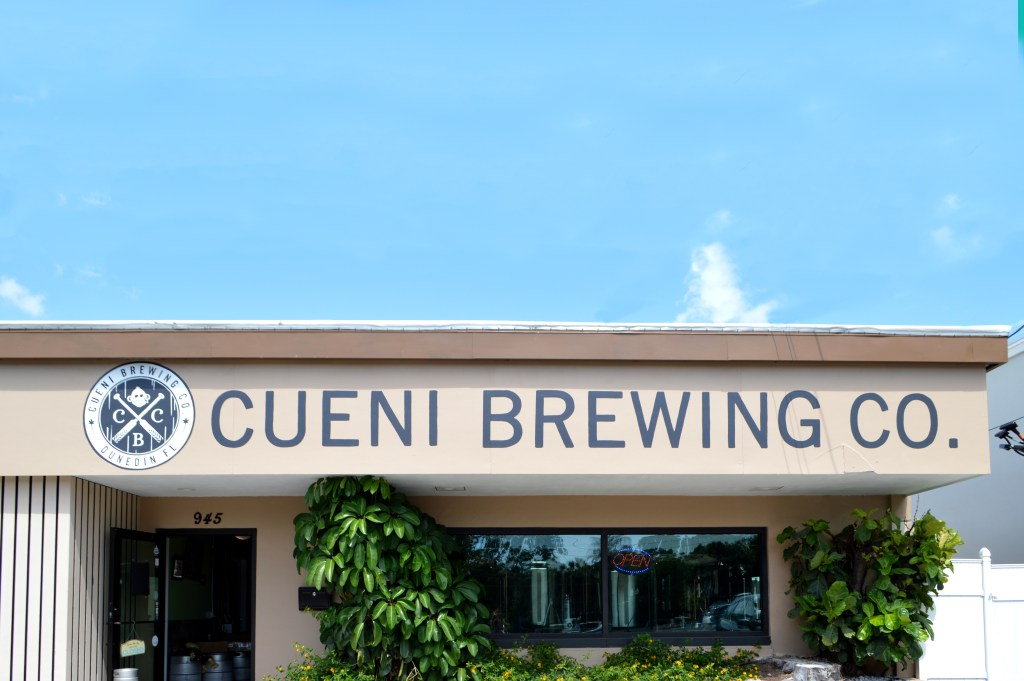 The Brew Review: Cueni Brewing Co. in Dunedin, FL Craft Beer | Brewery | Florida Breweries http://www.sunkissedindecember.com/2017/05/22/cueni-brewing-co-dunedin-fl/