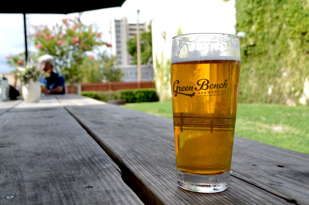 The Brew Review: Green Bench Brewing Co. St. Petersburg, FL. Sunkissed in December Blog. Craft Beer | St. Pete | Brewery | Tampa Bay Breweries http://www.sunkissedindecember.com/2017/10/02/brew-review-green-bench-brewing-co-st-pete-fl/