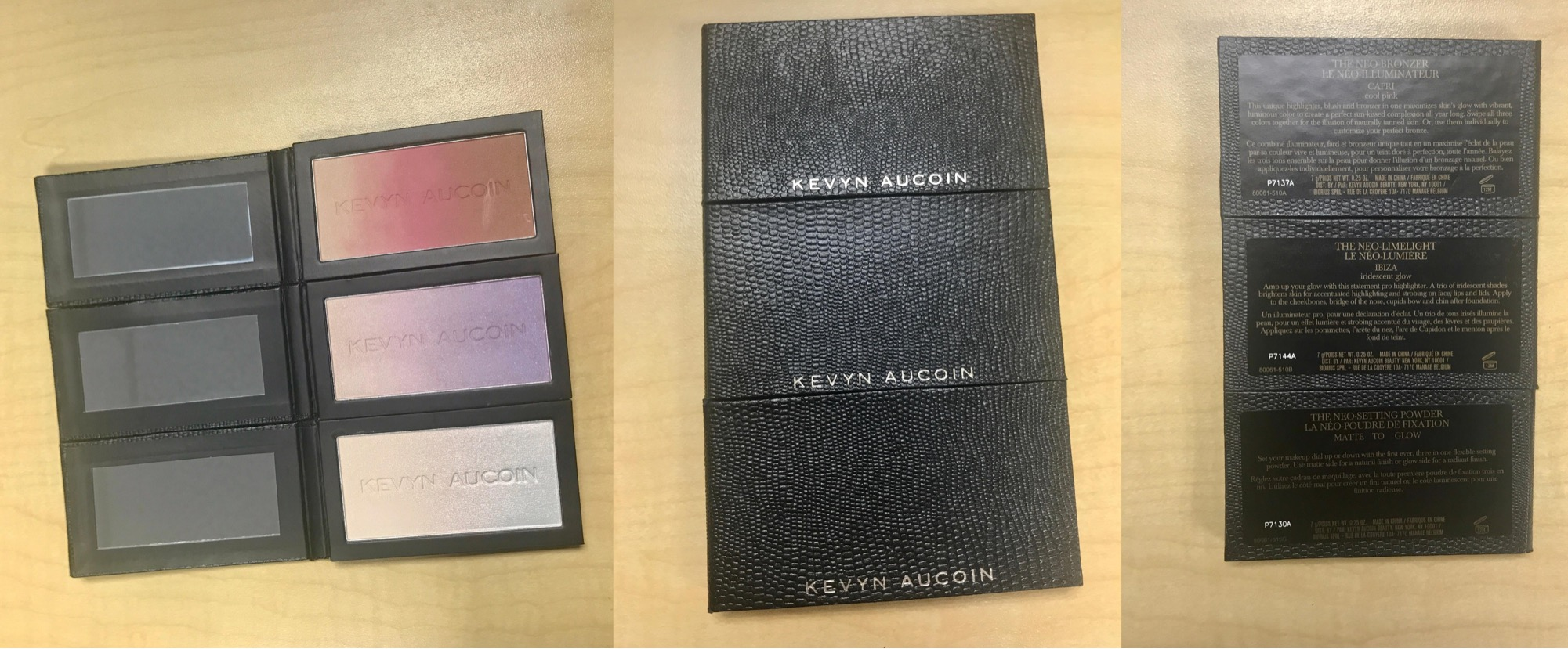 KEVYN AUCOIN The Neo-Trio Palette | Review and Swatch | Neo-Bronzer