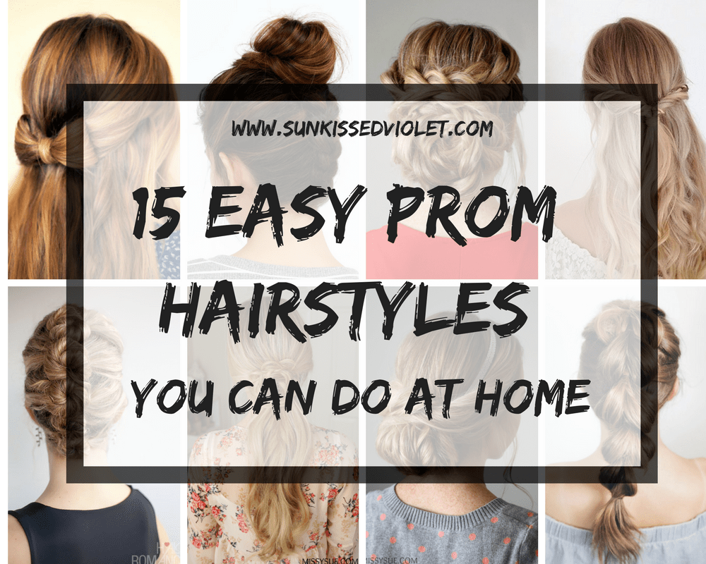 15 Easy Prom Hairstyles For Long Hair You Can DIY At Home | Detailed Step  By Step Tutorial