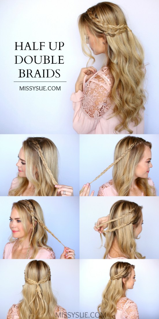 15 Easy Prom Hairstyles for Long Hair You Can DIY At Home | Detailed Step by Step Tutorial | Sun ...