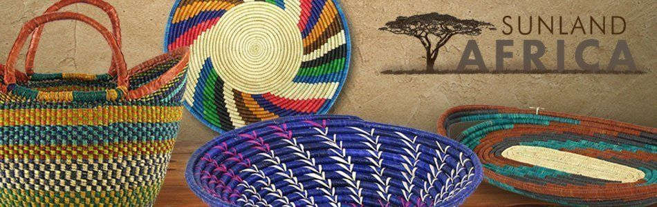 Authentic African Baskets from Sunland Home Decor African Baskets