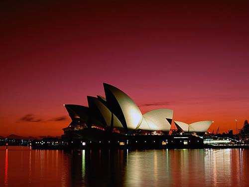 who doesn't want to see the famed sydney opera house or the great coral reef?