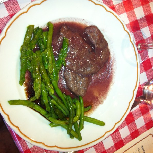 not a beef eater but since i cooked it, i ate it. was quite a delicious piece of veal