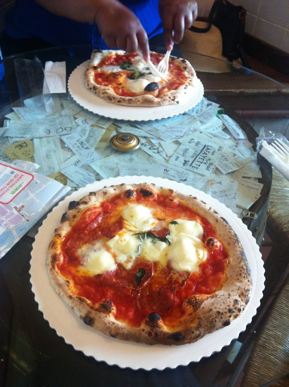 the best pizza i have ever had was at gusta pizza in florence