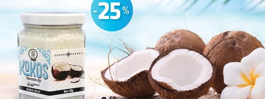 kokosovo ulje - akcija -25% Kokosovo ulje – Akcija -25% 62077932 2491969520814252 672274235657289728 o