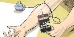 إدمان الهاتف الذكي يدمر إنتاجية الدماغ