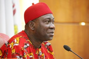 Image result for 'If I want, I'll remain in the senate forever' - Ekweremadu