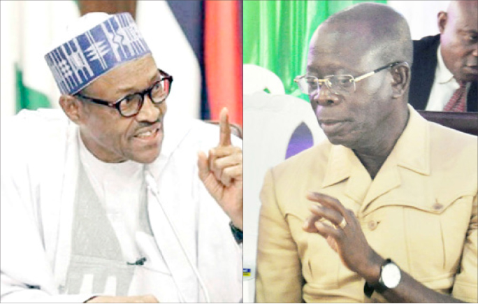Image result for What Oshiomhole Buhari,