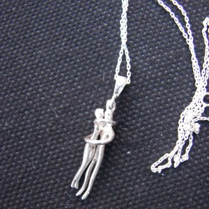 Necklace Couple of Lovers Sterling Silver 925