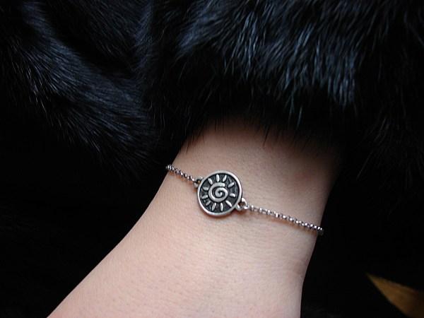 Bracelet Sun Sterling Silver 925