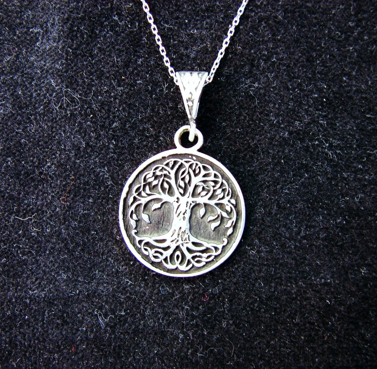 Necklace Celtic Tree of life Sterling Silver 925