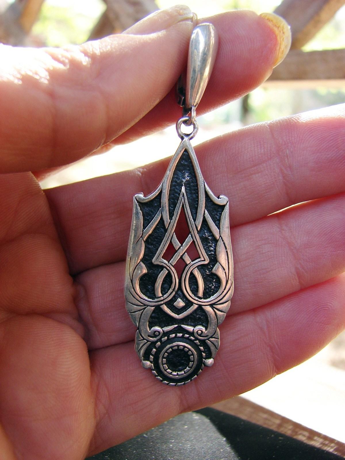 Dangle Long Earrings Sterling Silver 925