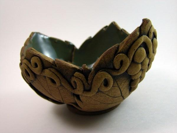 Ceramic Bowl, Candy vase, Key tray, soap dish, rustic decor