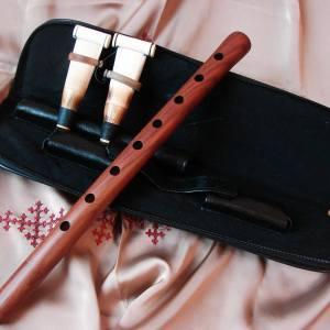 Armenian Professional Duduk Apricot Wood in Hard Case, Musical Instrument Doudouk, Key A, B, C, D, F, G, H