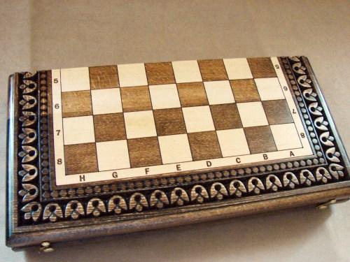 Handmade Chess Board Set made of Wood