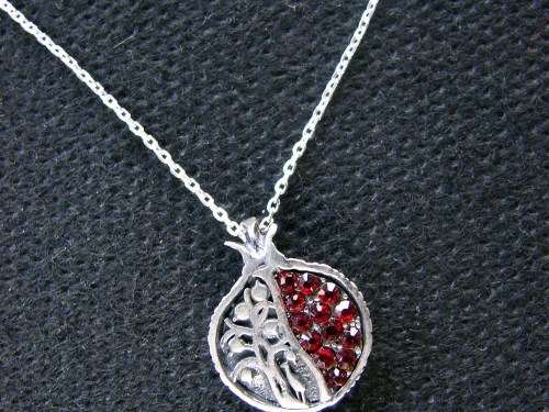 Pomegranate Tree of Life Necklace