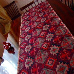 Table Runner Armenian Carpet Ornament