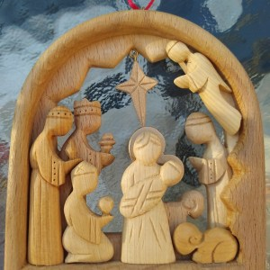 Christmas Ornament Nativity