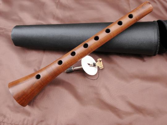 Armenian Zurna Apricot Wood in Hard Case, Musical Instrument Zurna for beginners