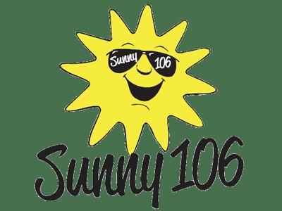Sunny 106 Compressed Transparent Logo