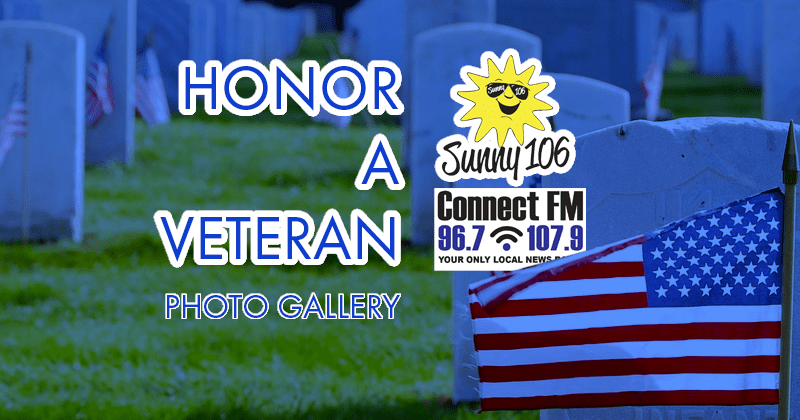 Honor a Veteran Sunny 106 Photo Gallery