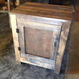 Rustic Nightstand inspired by Shanty 2 Chic