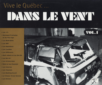 Various – Dans Le Vent Vol.1 Rare Quebec 60´s Beat/Garage Rock Music Canada Album Compilation