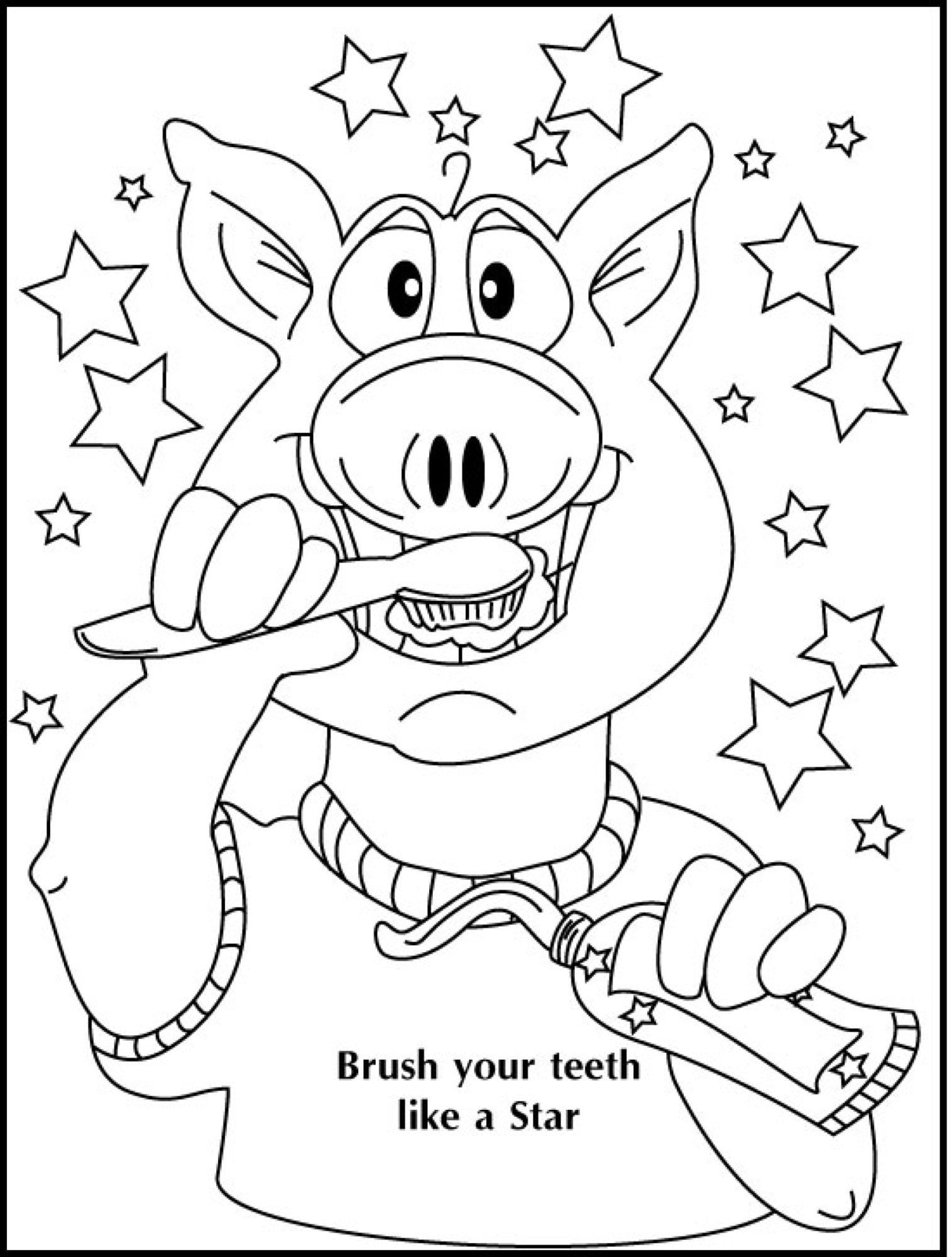 Coloring Pages Sunnybrook Dental