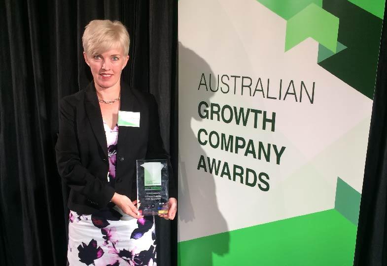 Sunnyfield CEO wins 'Women in Leadership' Award