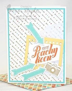 Peachy Keen Stamp Set