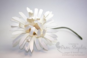 Paper Crafted Daisy