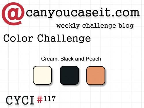 Can You Case It? Color Challenge 117. #cyci #colorchallange