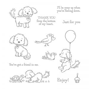 Bella and Friends Stamp Set from Stampin' Up!  Clear Mount: 141870