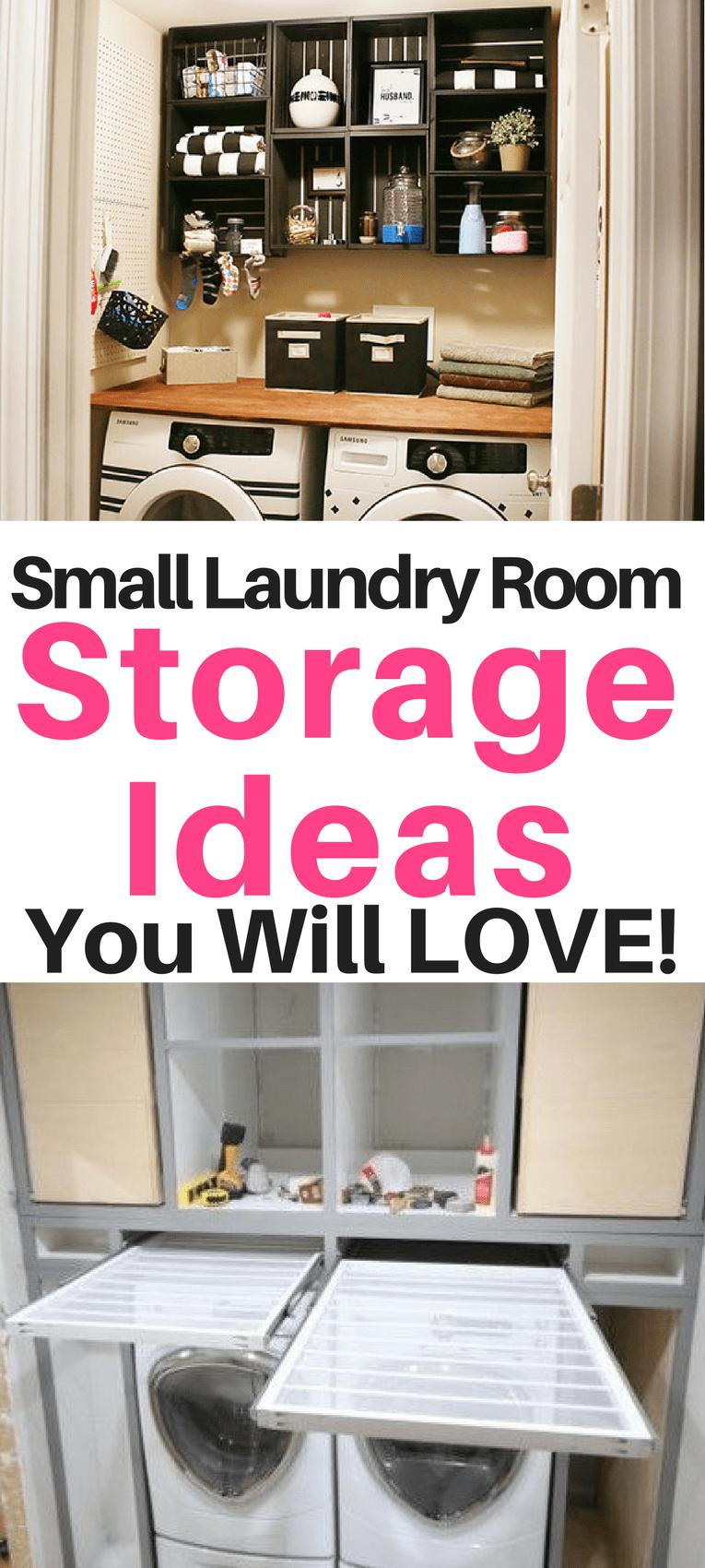 Small Laundry Room Organization Ideas - Sunny Home Creations on Small Laundry Room Organization Ideas  id=95506